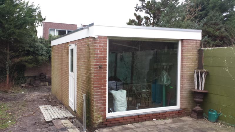 Dak Garage Vervangen : Heemstede vervangen dakbedekking garage dak discounter